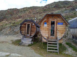 Sauna im Fass